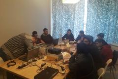 دورة صيانة كمبيوتر للائتلاف النسائي لأجل طرابلس